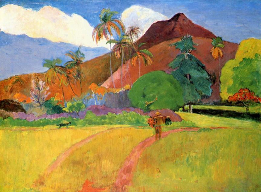 gauguin-tahitian-mountains-1893