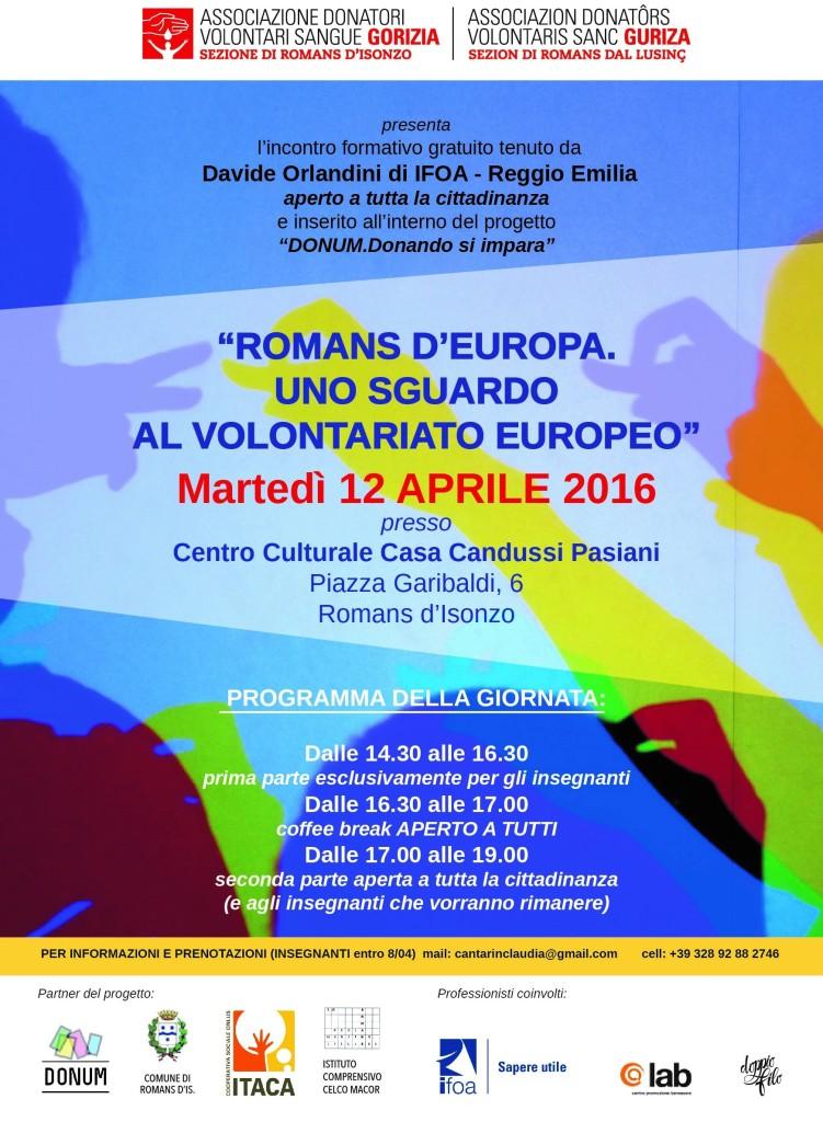 Romans D'Europa - Gorizia